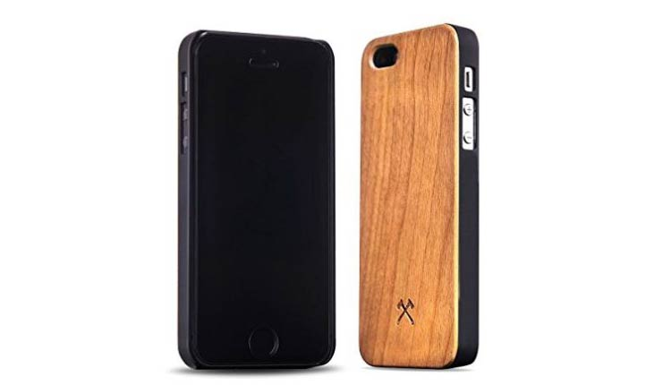 iPhone holz huelle cover case